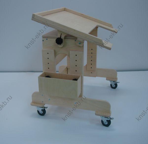 Столик на колесиках для детей с ДЦП АМД-012