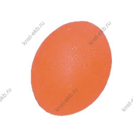 Мяч для массажа кисти яйцевидной формы мягкий ОТС-018