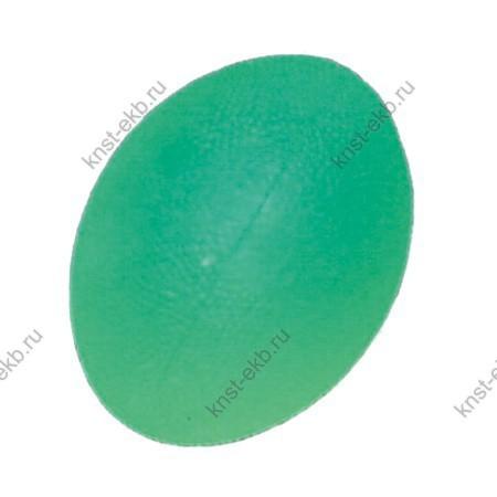 Мяч для массажа кисти яйцевидной формы полужесткий ОТС-023