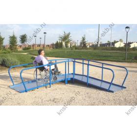 Пандус для тренировки инвалидов-колясочников КДК-010