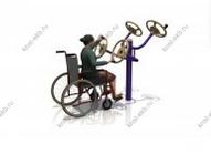 Тренажеры для инвалидов колясочников РУЛИ КДК-022