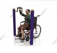 Тренажеры для инвалидов колясочников Ручной велосипед КДК-023