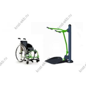 Уличные тренажеры для инвалидов Подтягиваение КДК-037