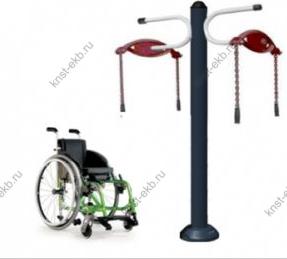 Уличные тренажеры для инвалидов Тяни-Толкой КДК-041