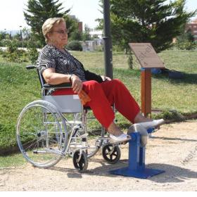 Уличный тренажер Велосипед КДК-053