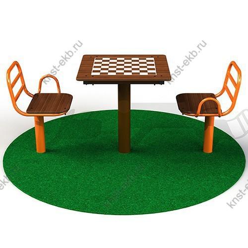 Шахматный стол уличный КДК-067