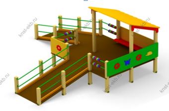 Детская игровая площадка для инвалидов КДК-091