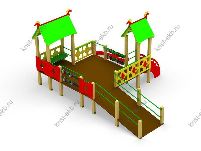 Детская площадка для инвалидов тип-1 КДК-092