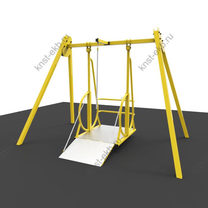 Качели для инвалидов - колясочников КДК-082