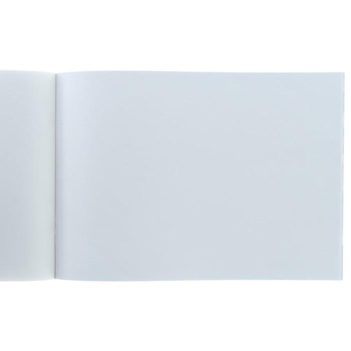 Альбом для рисования А4, 40 листов на скрепке «Прекрасные пионы», обложка мелованный картон, МИКС