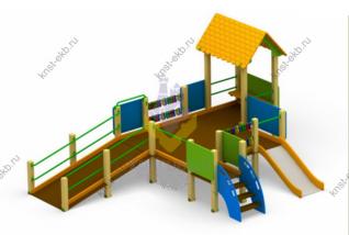 Площадка для детей инвалидов КДК-093