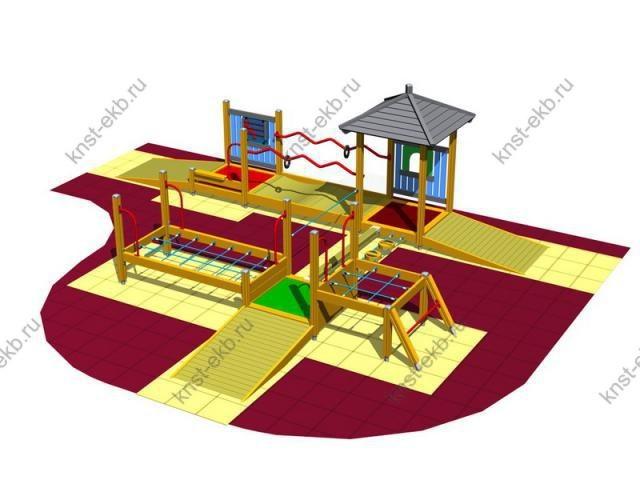 Детская площадка для детей Затейник КДК-094