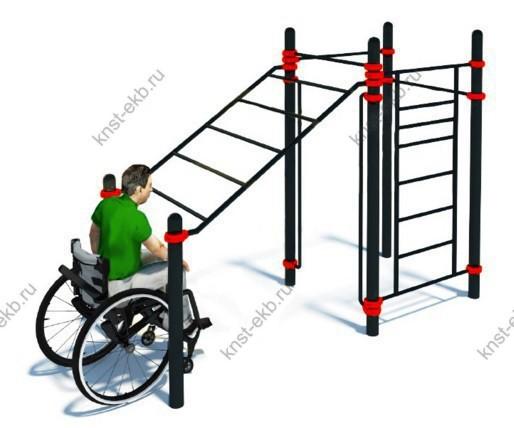 Спортивная площадка для инвалидов-колясочников КДК-099