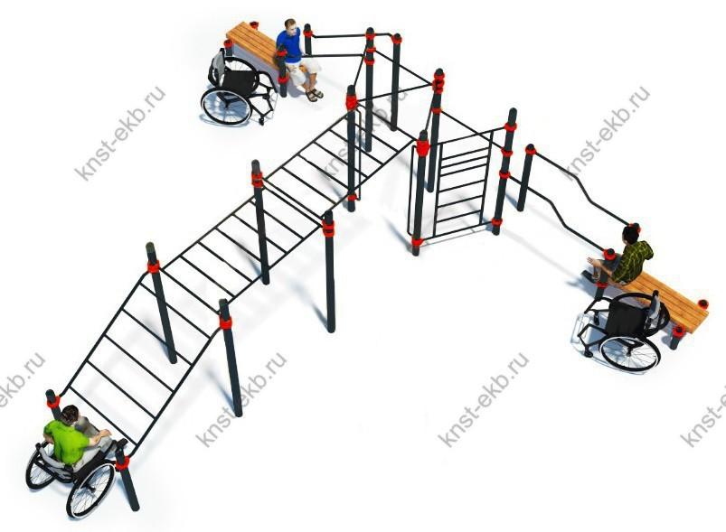 Спортивный комплекс для инвалидов-колясочников КДК-106