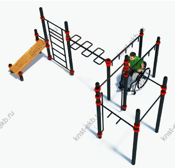 Спортивный комплекс для инвалидов-колясочников КДК-107