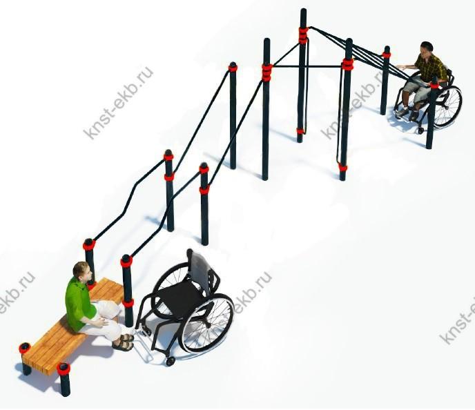 Спортивный комплекс для инвалидов-колясочников КДК-108