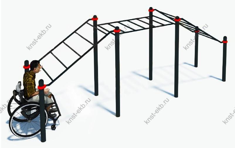 Спортивный рукоход для инвалидов-колясочников КДК-109