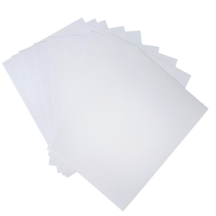 Папка для черчения А4, 20 листов, плотность 180 г/м2, без рамки, бумага ГОЗНАК ГОСТ 597-73