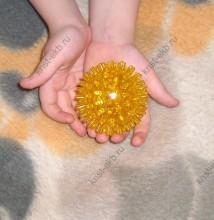 Логопедический мячик ЗНД-107