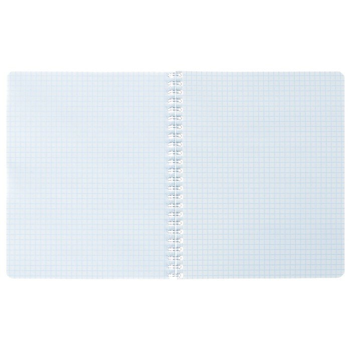 Тетрадь 96 листов клетка на гребне «Цветные разводы», обложка мелованный картон, УФ-лак, МИКС
